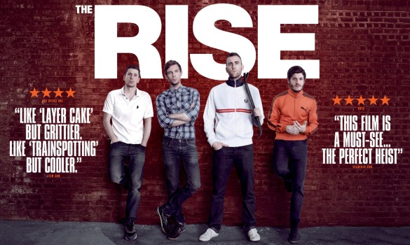 The Rise Quad 585x350 Exclusive: New Quad Poster for Rowan Athale's The Rise with Luke Treadaway & Iwan Rheon