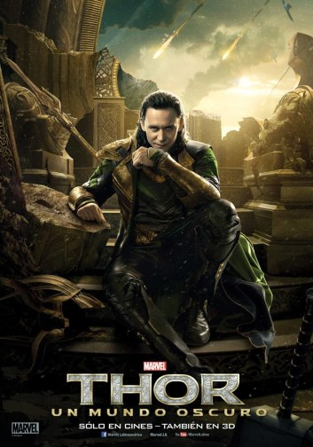 Thor and Loki Grace New International Character Posters for Thor: The Dark World