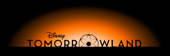 Tomorrowland Logo 585x196 Disney Reveal Logos for Tomorrowland, Muppets Most Wanted, Maleficent and Saving Mr. Banks
