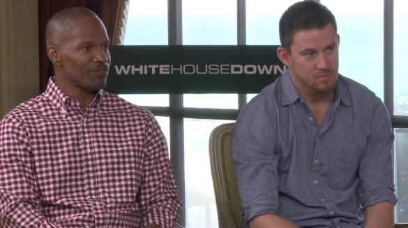 Jamie Foxx and Chaning Tatum