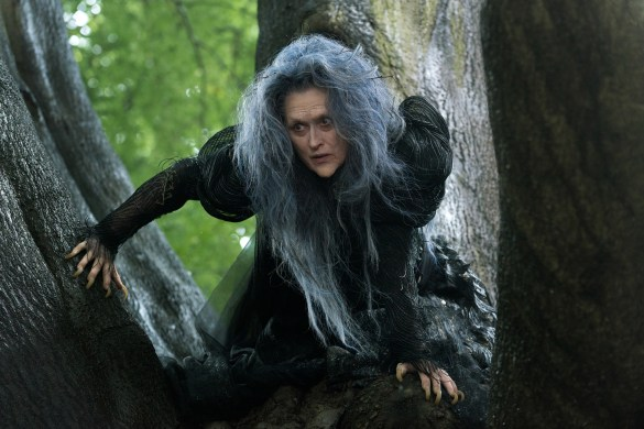 Meryl Streep in Into the Woods 585x390 First Look Image: Meryl Streep as the Witch in Disney's Into the Woods