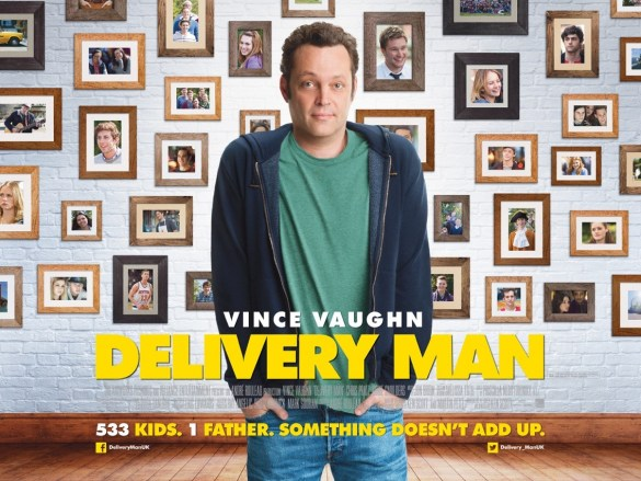 Delivery Man UK Quad Poster 585x439 The HeyUGuys Interview: Ken Scott on Delivery Man