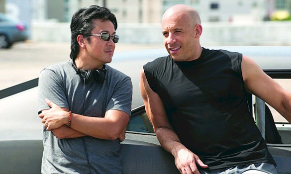 Justin Lin and Vin Diesel 585x350 Fast & Furious' Justin Lin to Direct Next Instalment in Bourne Franchise