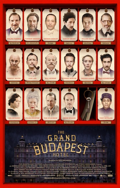 The Grand Budapest Hotel Poster 416x650 New Trailer and Poster for Wes Anderson's The Grand Budapest Hotel