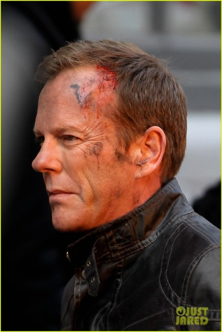 24 Live Another Day 435x650 Kiefer Sutherland Heads Into Action as Jack Bauer in 24: Live Another Day Set Photos