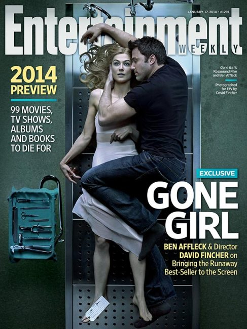 Gone Girl EW Cover 487x650 Post Mortem Preview of Rosamund Pike with Ben Affleck in David Fincher's Gone Girl