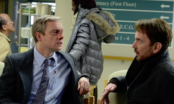 Martin Freeman in Fargo slice 585x350 First Look Images: Martin Freeman in Coen Brothers Produced Fargo TV Series
