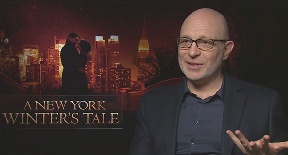 Akiva Goldsman The HeyUGuys Interview: Director Akiva Goldsman talks A New York Winters Tale