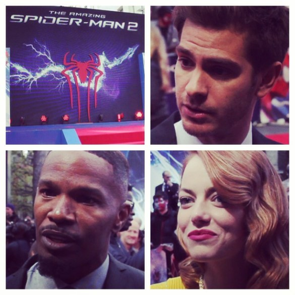 montage 585x585 The HeyUGuys Premiere Interviews: The Cast & Crew of The Amazing Spider Man 2