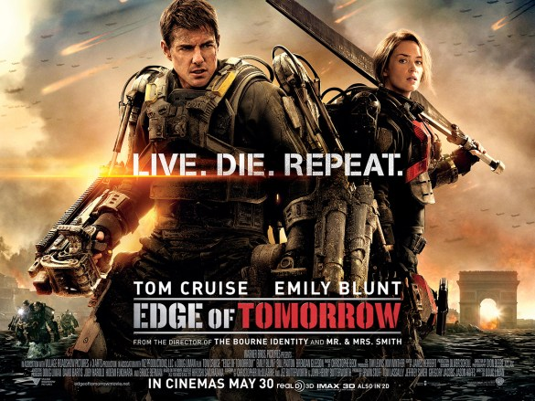 Edge of Tomorrow UK Quad 585x439 Edge of Tomorrow Review