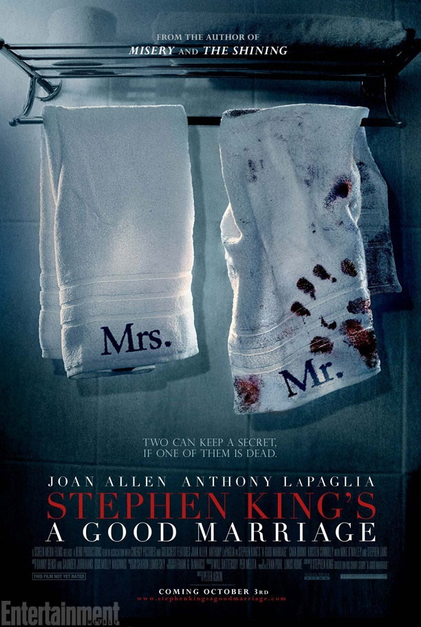 A Good Marriage 436x650 First Trailer and Poster for Stephen King Thriller A Good Marriage