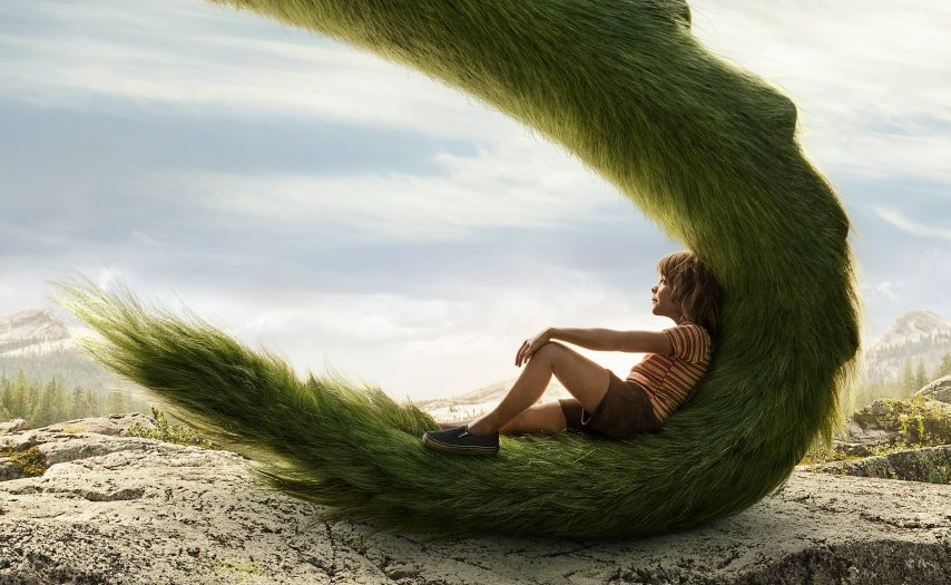The full trailer for Pete's Dragon boasts more scaly shenanigans