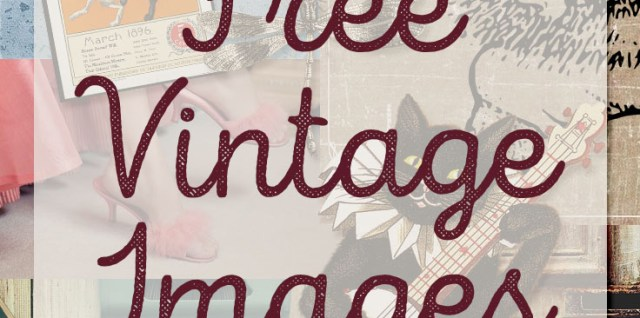 Free list of commercial use vintage images courtesy of hgdesigns.co