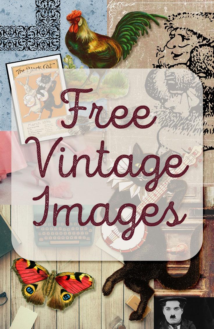 freebie: vintage image round up