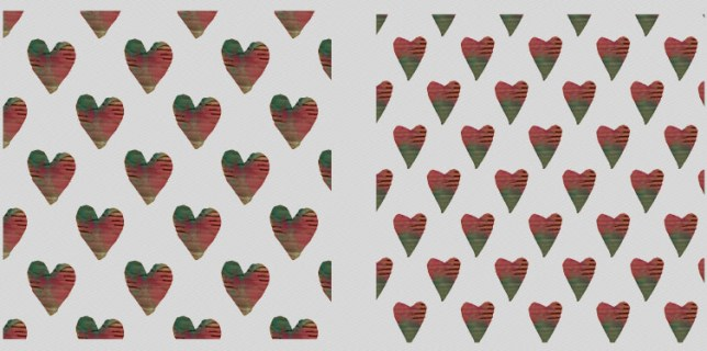 Free download ~ Cardboard hearts png overlays ~ courtesy of hgdesigns.co