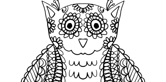 Free download ~ doodle owl in png, jpg, ai and svg formats ~ courtesy of www.hgdesigns.co