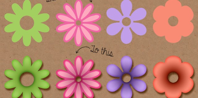Free download ~ photoshop flower layer styles ~ courtesy of hgdesigns.co