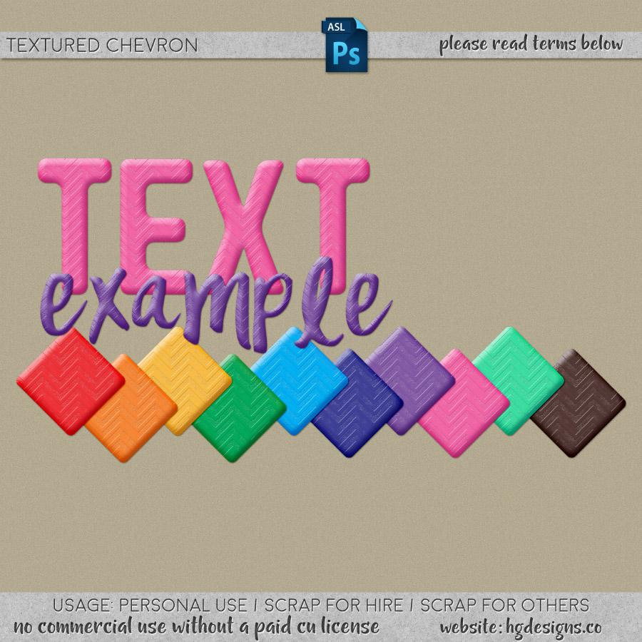 Free download ~ textured chevron photoshop layer styles