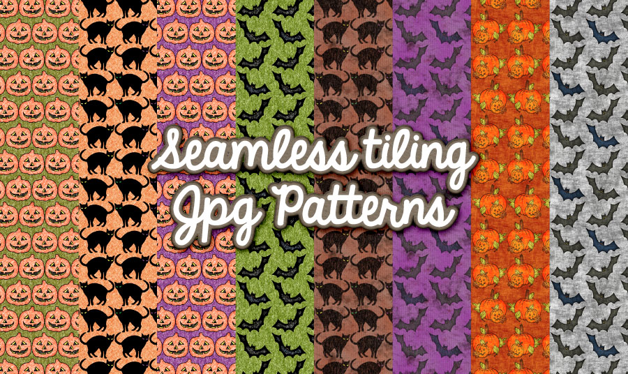 freebie: halloween patterns – HG Designs