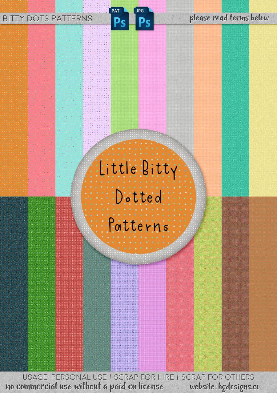freebie: bitty dots seamless tiling patterns