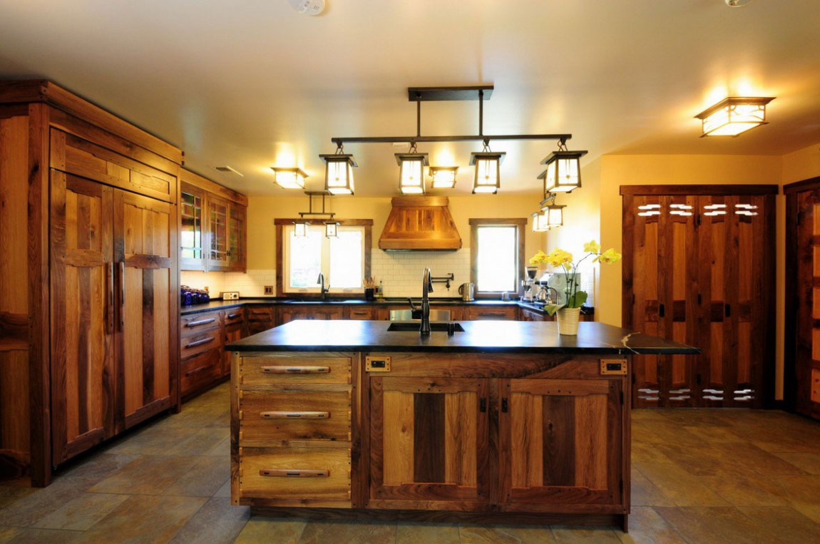20 impressive kitchen flooring options for your kitchen floors kitchen flooring options VIEW IN GALLERY Wooden Kitchen Flooring Options with Beautiful Chandeliers Lighting