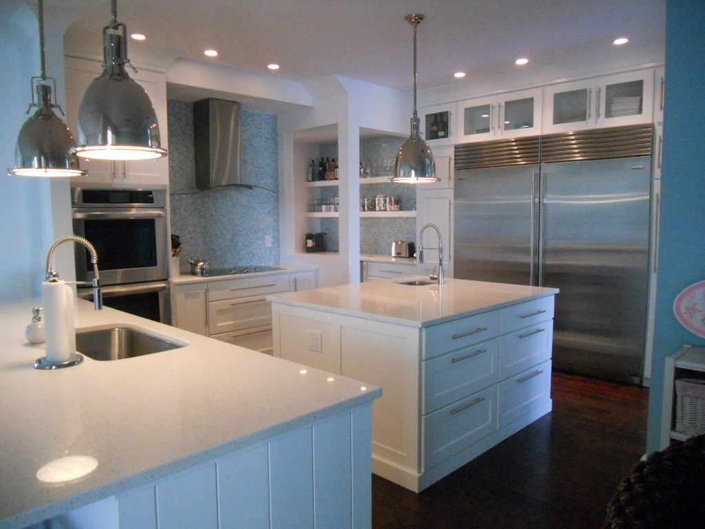 types of kitchen countertops materials white kitchen countertops VIEW IN GALLERY quartz kitchen countertops with modern white kitchen theme