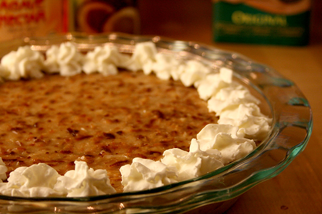 coconut-pie-topped