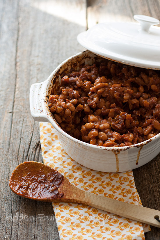 Baked Beans (Full of fruit!)