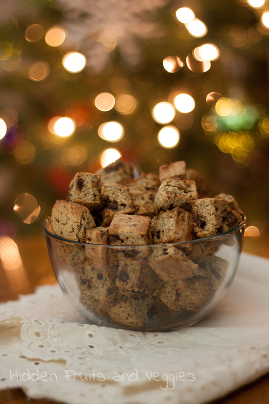 Chocolate Chip Cookie Croutons