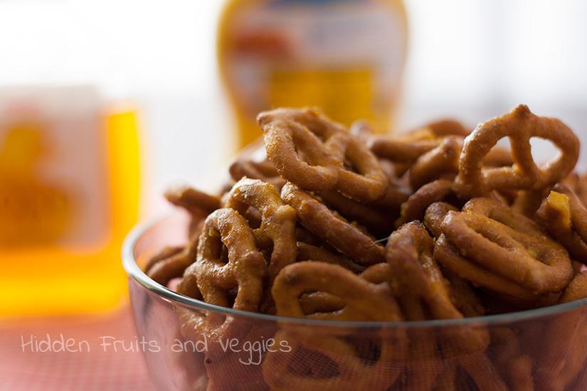 Sweet Mustard Pretzels