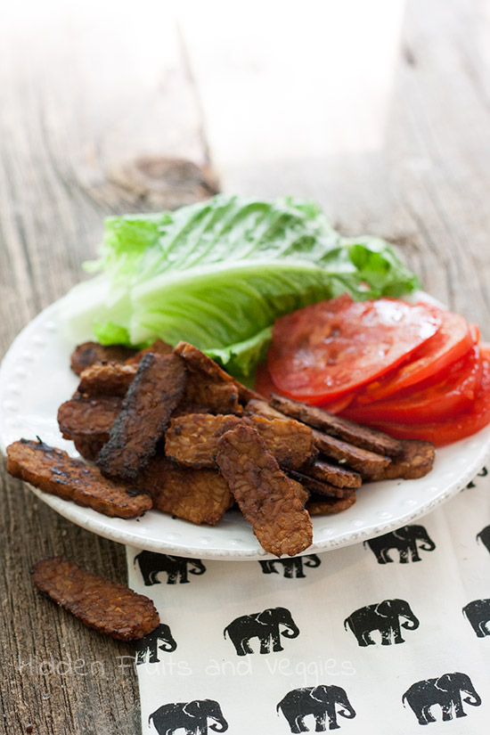Tempeh, Lettuce, and Tomato (TLT)