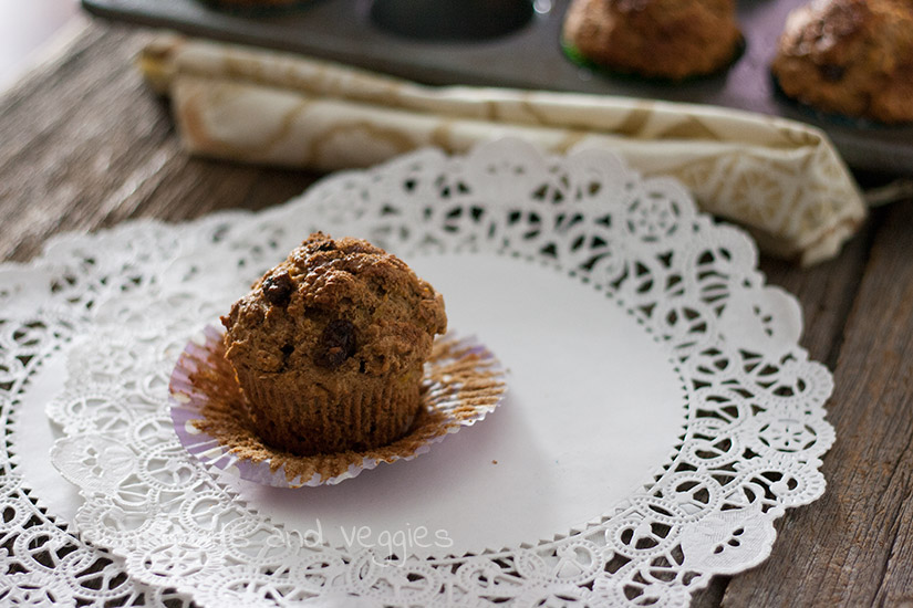 Grated Squash Muffins @hiddenfruitnveg