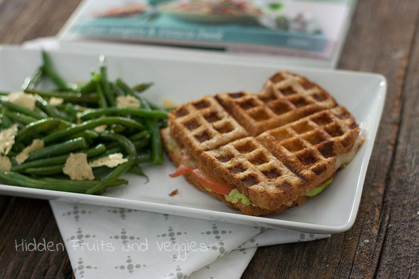 Grilled Avocado Sandwich from @Hiddenfruitnveg
