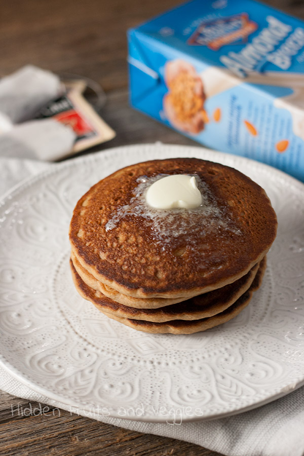 Whole Wheat Chai Pancakes @hiddenfruitnveg