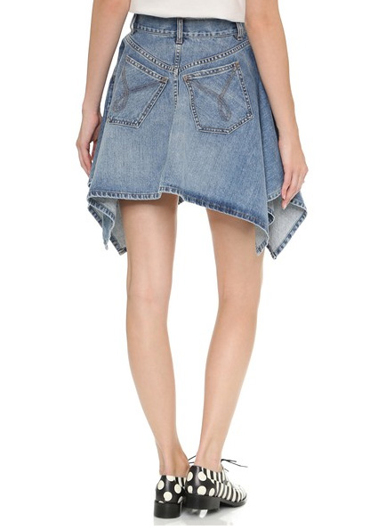 moschino denim skirt 2