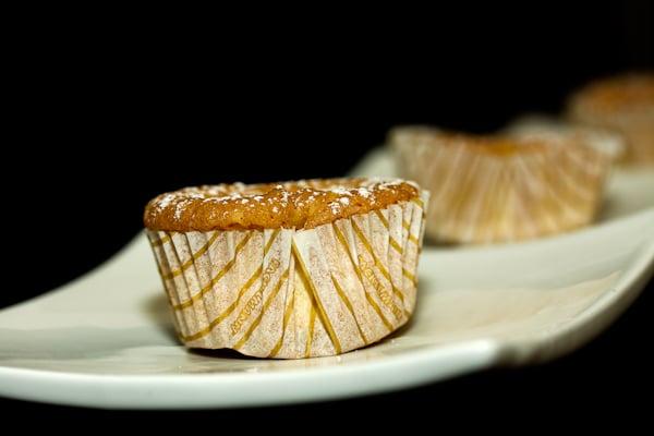 Vanille-Muffins mit Puddingfüllung