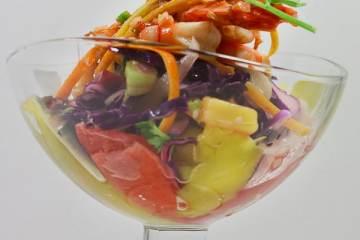 ingwer-garnelen-auf-zitrus-krautsalat