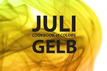 Cookbook of Colors Juli: Gelb