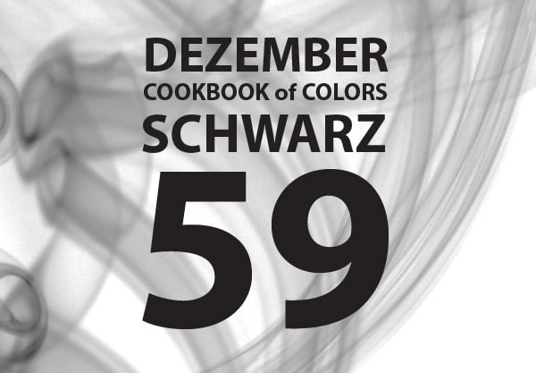 Cookbook of Colors: Zusammenfassung und Wahl der Dezember-Gewinner