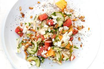 fenchel-melonen-salat-feta-tamari-mandeln
