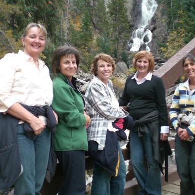 Judy, Nora, Diane,Sheryl, Martha