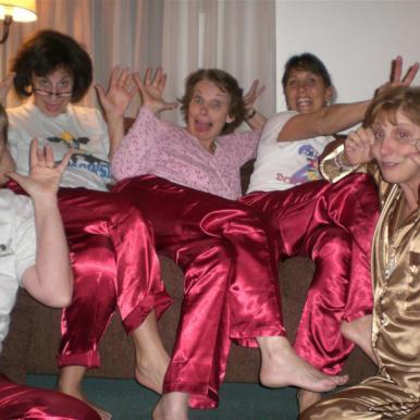 Judy, Nora, Diane, Martha, Sheryl