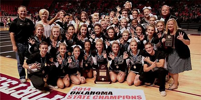 Dazzle, Strength, Skill and Fun: Broken Arrow Cheerleading Squad Has It All