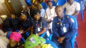 Delegates from the Federal Fire Service Kaduna