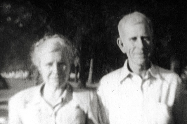 William Weldon Hill and his wife, Bernice (Harlan) Hill. Weldon was the son of Horace William and Martha Lee (LaMaster) Hill
