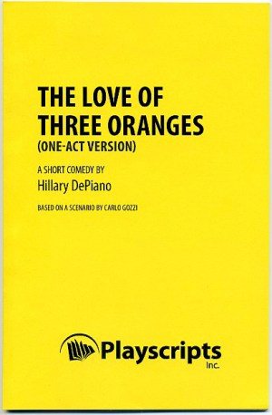 The Love of Three Oranges (one-act version) front cover