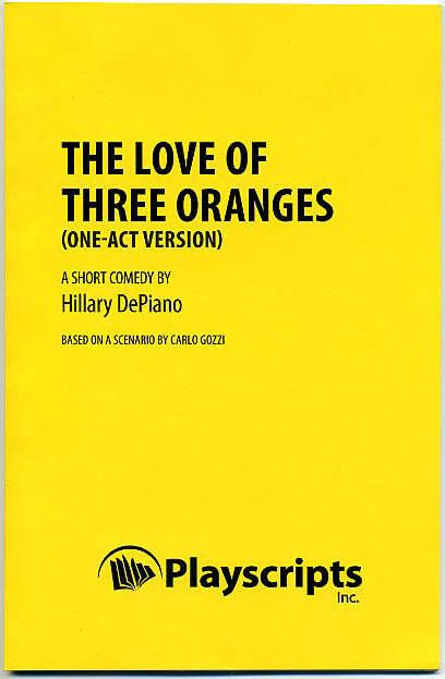 The Love of Three Oranges (one-act version) cover reveal