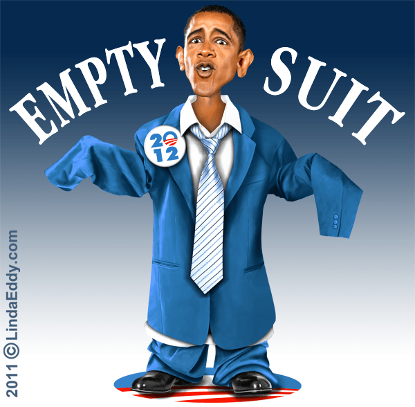 The emptiest of suits!