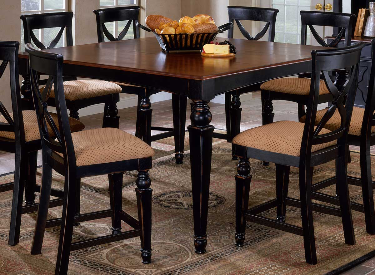 Hillsdale Northern Heights Counter Height Dining Table HD p bar height kitchen table Hillsdale Northern Heights Counter Height Dining Table