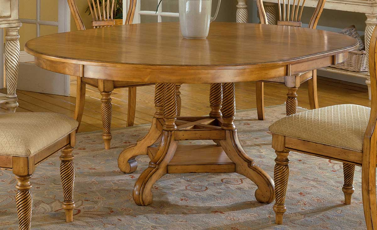 Hillsdale Wilshire Round Oval Dining Table Antique Pine HD p oval kitchen table Hillsdale Wilshire Round Oval Dining Table Antique Pine